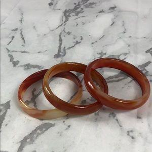 Jewelry - Set of jade bracelets